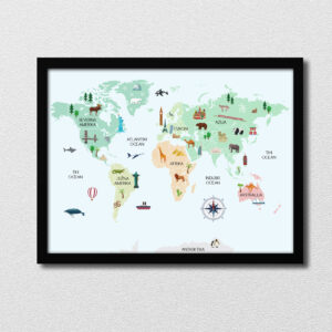 Zemljevid znamenitosti