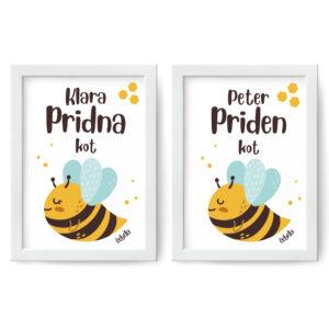Pridna/priden kot čebela