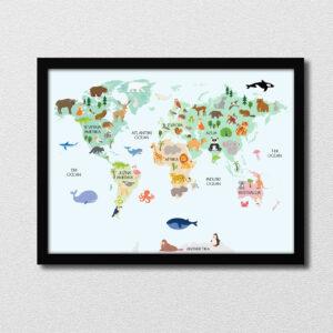 Zemljevid živali
